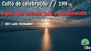 Culto de Celebração 19h // 23 de agosto de 2020 // Igreja Presbiteriana - GV