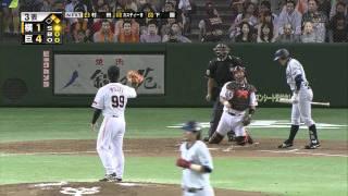 2010年10月2日 巨人対横浜 トリプルプレー