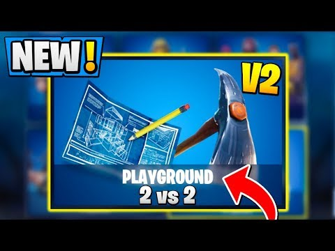 *ALL* Fortnite PLAYGROUND V2 Features! | Season 5 Release, 2v2, Permanent! ( Practice LTM )
