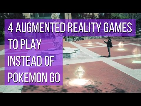 4 augmented reality games to play instead of Pokemon Go