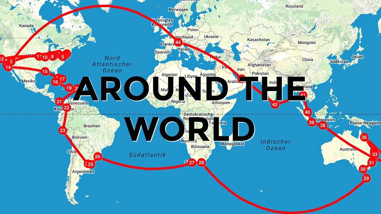my trip around the world youtube