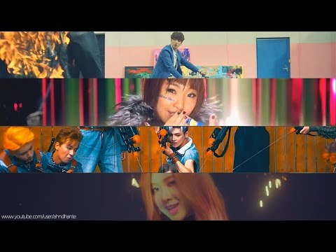 Bts Blackpink 2ne1 Nct 127 Playing With Fire Truck Mashup