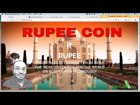 Rupee Coin - Decentralized Currency for India and Asia