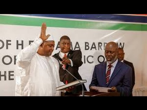President  Adama Barrow cannot resign After 3 Years In Office