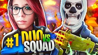 ANIMA IS AT RAGAZZA PIU ' FORTE IN ITALIA CON LA NUOVA SKIN! DUO vs SQUAD! Fortnite Battle Royale