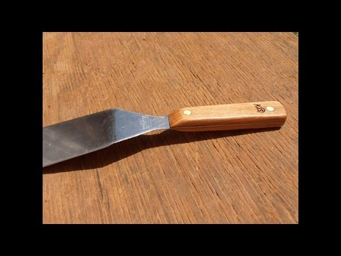 How to Make a Wooden Spatula Handle