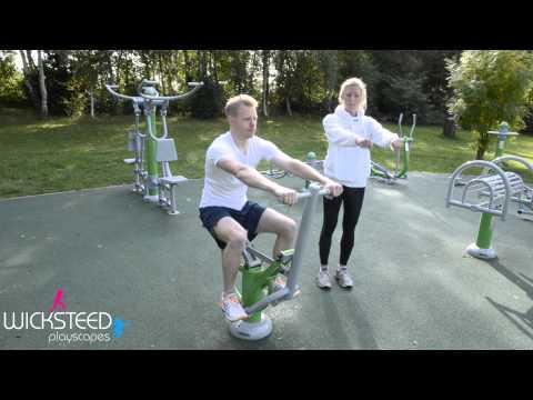 Outdoor Gym Equipment - FLZ Horseback Rider