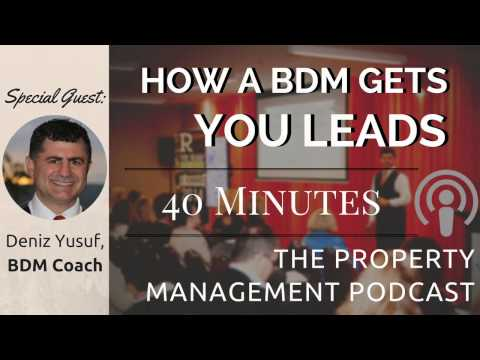 Deniz Yusef on What a Good Business Development Manager Will Do For Your Property Management Company