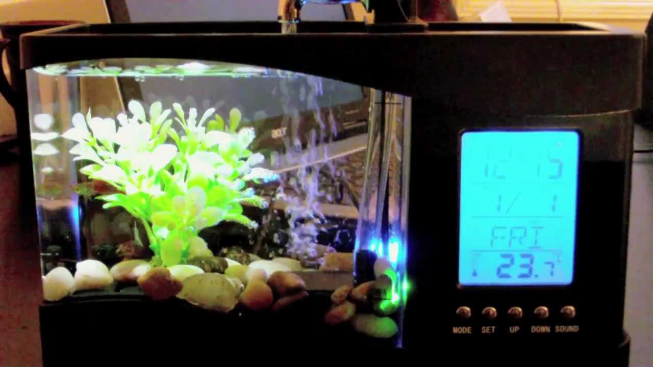 Modernistisk USB akvarium - YouTube BF-03