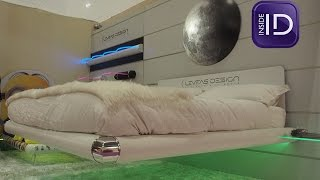 You won't believe this amazing floating bed!