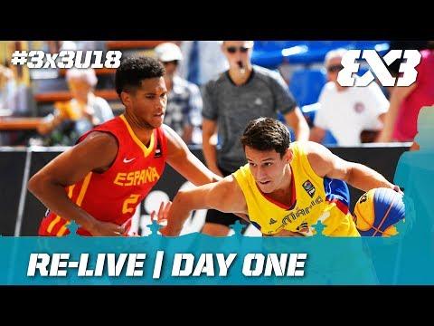 Re-Live - FIBA 3x3 U18 Europe Cup 2017 - Day 1 - Debrecen, Hungary