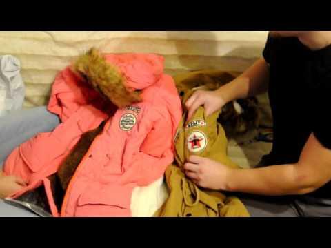 видео: Зимняя одежда и обувь с aliexpress. Парки и кроссовки