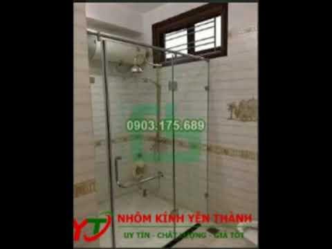 Phòng tắm kính - Phòng tắm kính cường lực