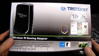 trendNET TEW-647GA Wireless N Gaming Adapter Unboxing & First Look Linus Tech Tips