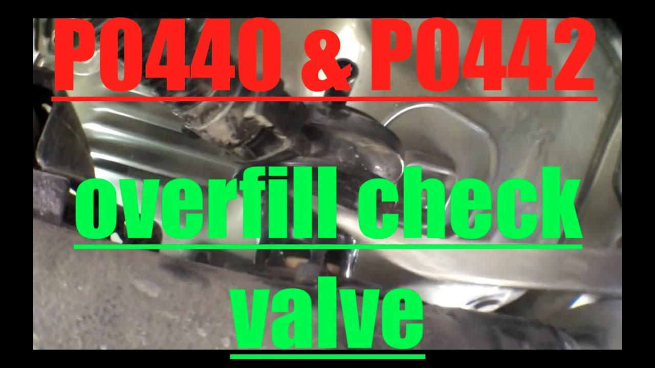 P0440 P0442 Replace Overfill Check Valve Toyota Camry Youtube 2002 Celica Engine Diagram