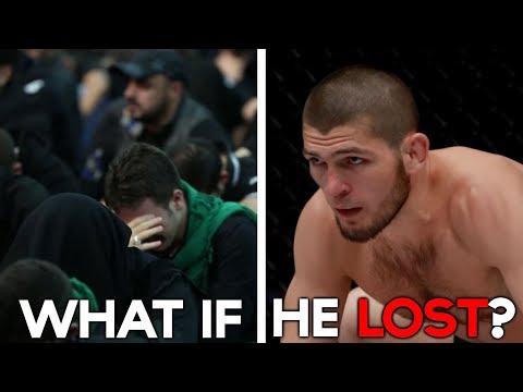 WHAT IF KHABIB NURMAGOMEDOV LOST?