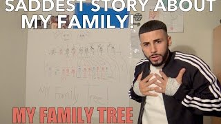 SADDEST STORY ABOUT MY FAMILY... (My Family Tree)