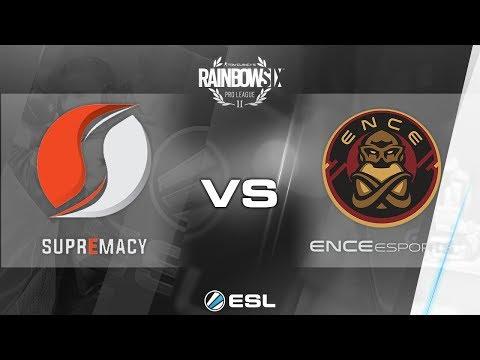Rainbow Six Pro League - Season 2 - PC - EU - Supremacy vs. ENCE eSports - Week 6