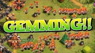 Gemming To Next Level!   Clash Of Clans Valkyrie Gem Spree! So Many Valkyries!