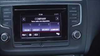 Composition Colour infotainment of Volkswagen Polo my 2014 restyling
