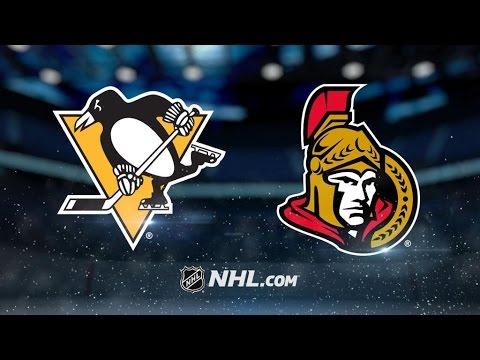 Pittsburgh Penguins Vs. Ottawa Senators | NHL Game Recap | March 23, 2017
