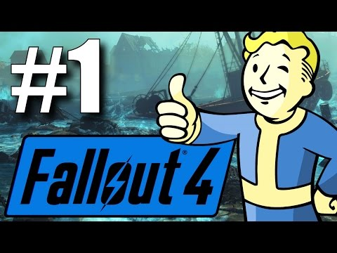 Fallout 4 Far Harbor DLC - Part 1 - Welcome to the Island! (New Survival Mode)