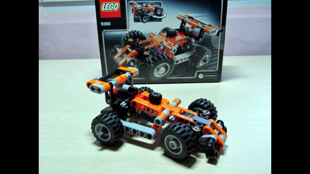 lego technic 9390 formula 1 b model youtube. Black Bedroom Furniture Sets. Home Design Ideas