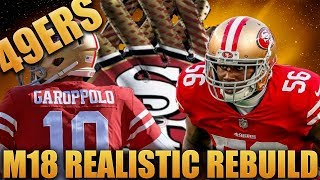 Jimmy Garoppolo is the Future! Realistic Rebuild of the San Francisco 49ers! | Madden 18 Franchise! 2017 Video