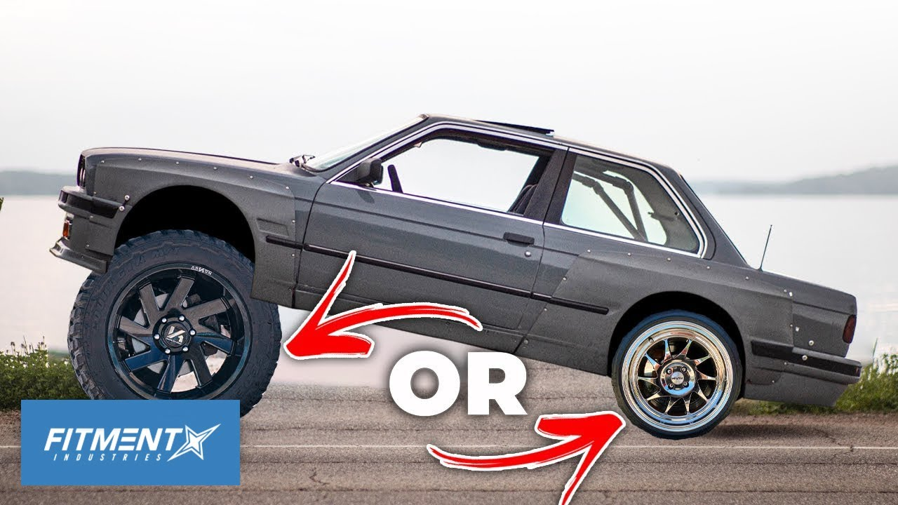 Would You Rather Run 16x5's or 22x12's on Your Next 3 Cars?