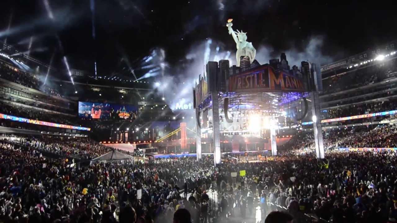 Wrestlemania 29 Fireworks Displays - YouTube
