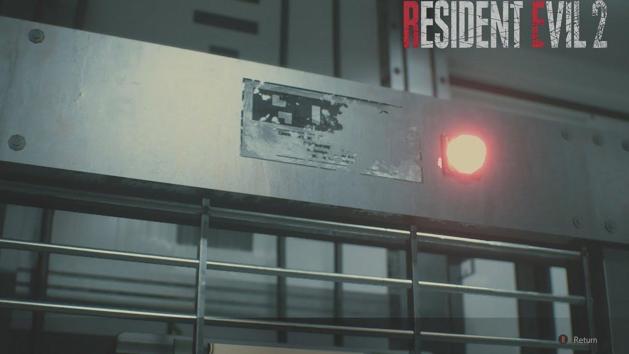 resident evil 2 remake plant lab code