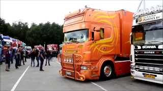 Aurenico Scania's V8 sound - Super Brut 2015