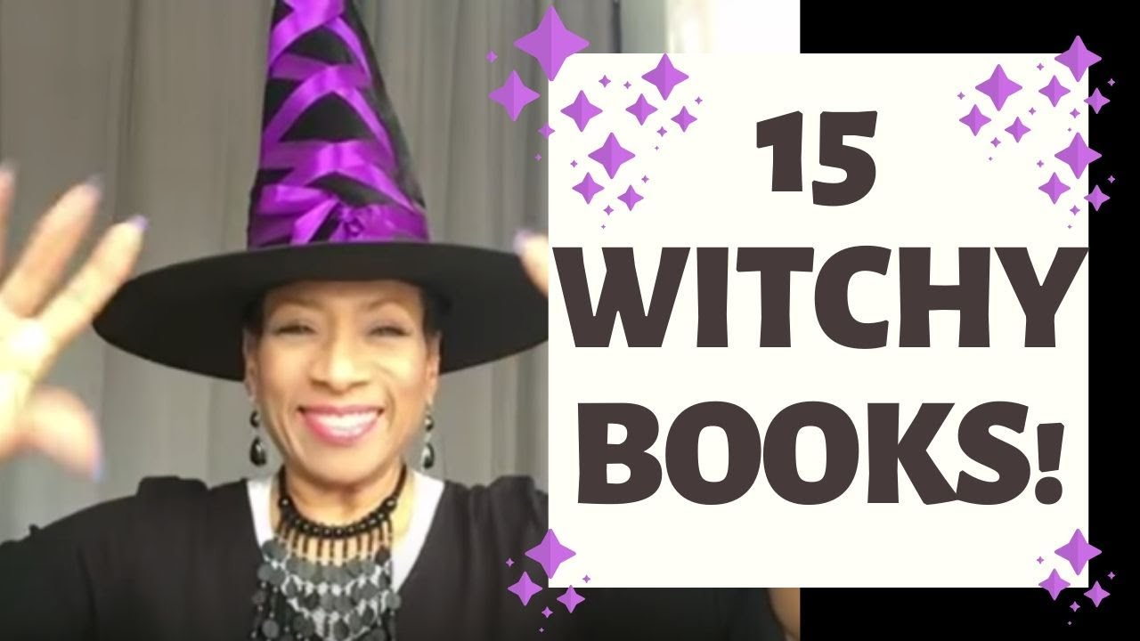 15 Books I Recommend for BEGINNING WITCHES | Witchy Wednesday ❤️