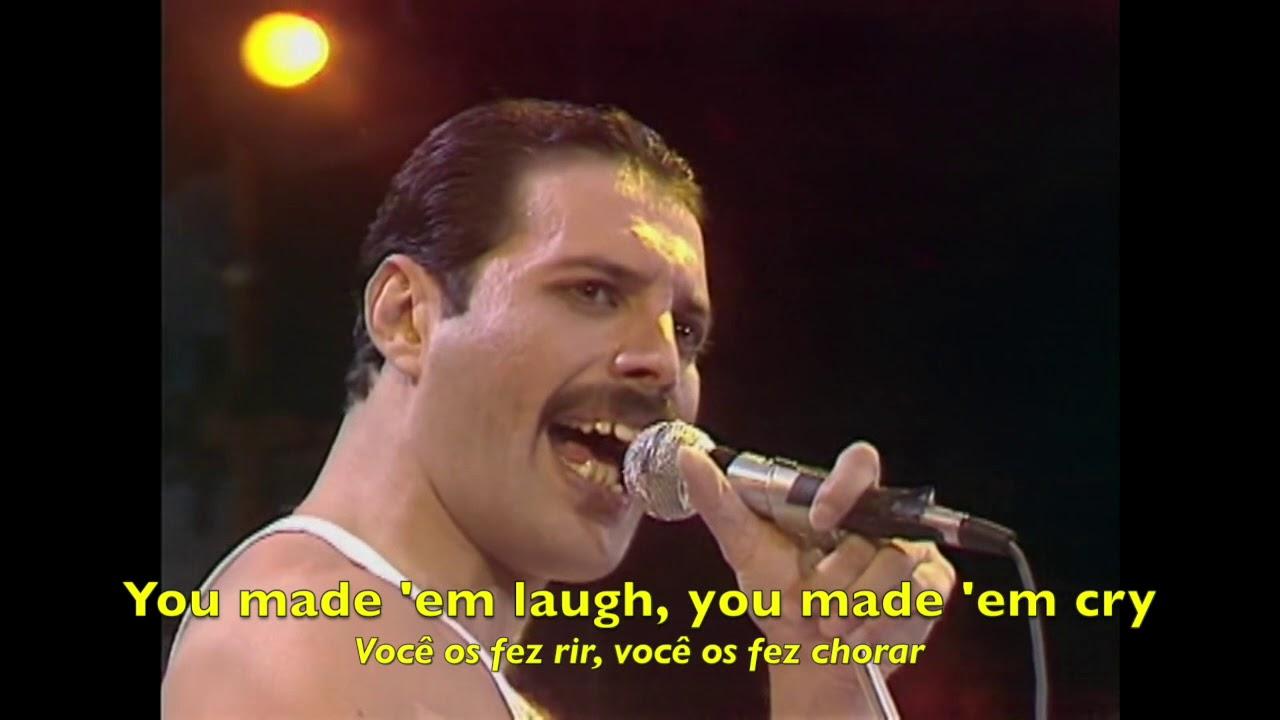 Download Queen - Bohemian Rhapsody - Radio Ga Ga - Live Aid (Tradução) - HQ