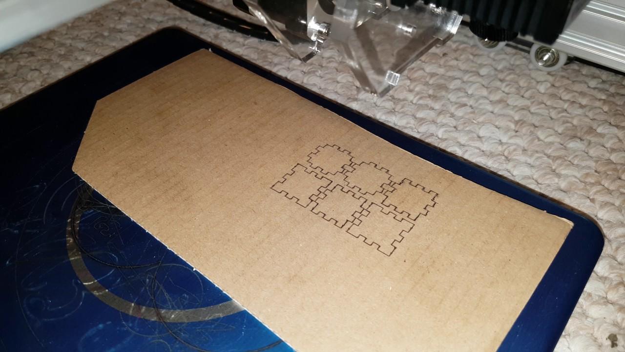 15mm laser cut cardboard box. - YouTube for Laser Cut Cardboard Box  539wja