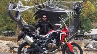 twistygrips first ride on the tail of the dragon on his new africa twin full run