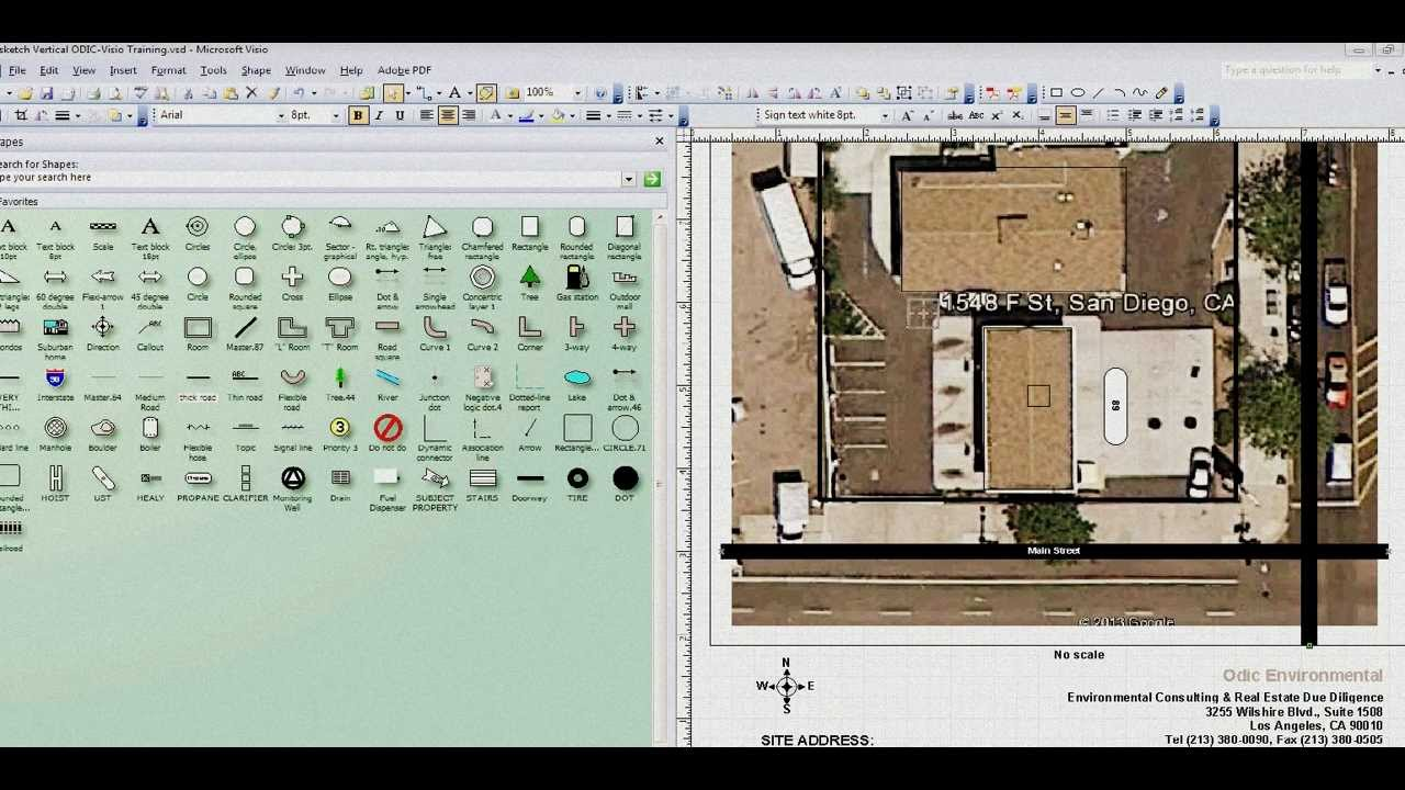 Visio Plot Plan Training Lesson 1 YouTube – Plot Plan And Site Plan