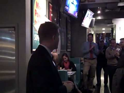 Brian Moran at Arlington Young Democrats