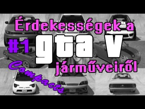 Érdekességek a GTA V járműveiről #1  -  Compacts