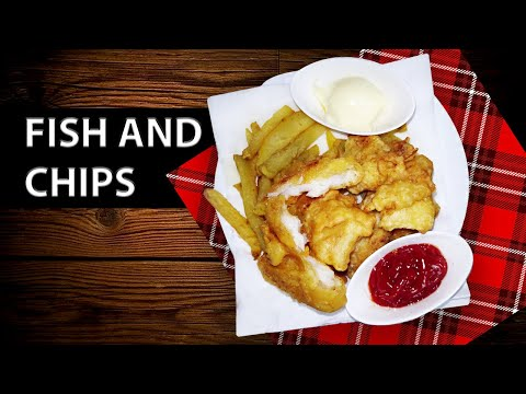 Fish & Chips - London Style