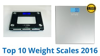 10 Best Weight Scales 2016