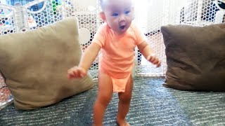 Cute Babies Walking For The First Time  Precious Moments Video