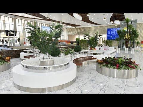 Бакинский железнодорожный вокзал открыт дляпосетителей после капитальной реконструкции