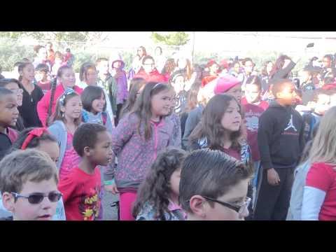 FlashMob at Sierra Lakes Elementary School