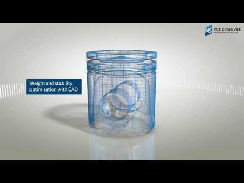 How Pistons Work (3D Animation) - Motorservice Group -
