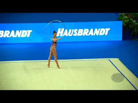 TASEVA Katrin (BUL) - 2017 Rhythmic Worlds, Pesaro (ITA) - Qualifications Hoop