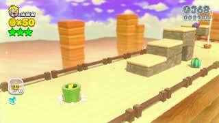 Super Mario 3D World 4-1 Speedrun - Time: 37 (TWR)