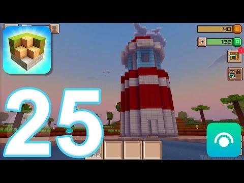 Block Craft 3D: City Building Simulator - Gameplay Walkthrough Part 25 - Level 12-13 (iOS) - 동영상