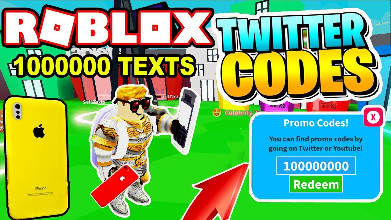 New Game All New Codes Texting Simulator Roblox Youtube