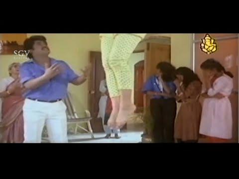 Swathi hanged herself to prove Jaggesh's Love   Best Scenes of Kannada Movies